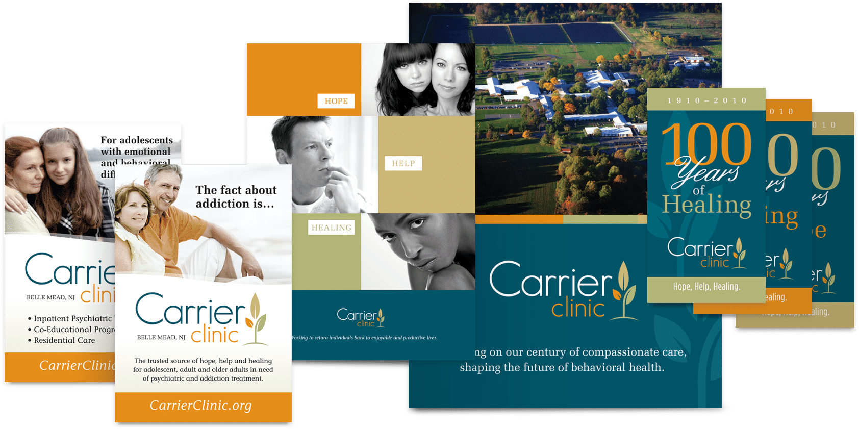 Branding Company in NJ examples of successful collateral design