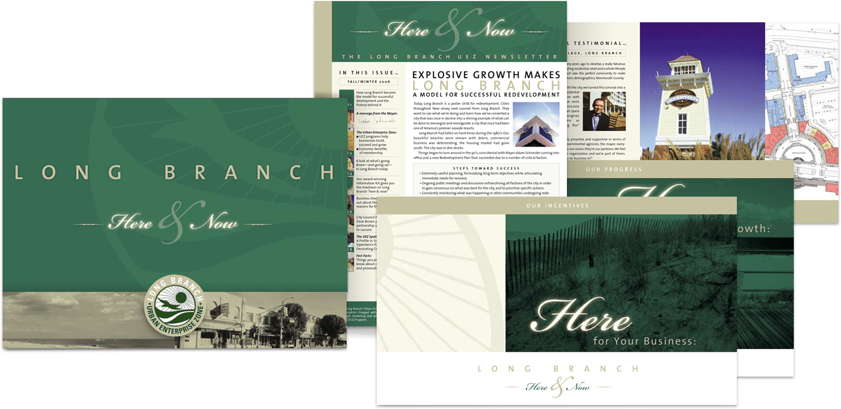 Branding Company NJ collateral design examples