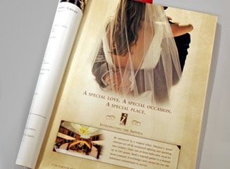 Print Advertising example for article on ideal print ad placement