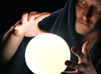 A Man Looks Into a Crystal Ball to Predict Web Behavior and Learn Some Internet Marketing Tips