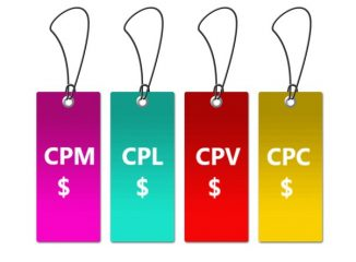 Lowest CPC CPL CPV or CPM pricetags